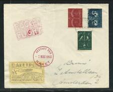 1945 HOLLAND rocket mail cover - de Bruijn OUDERKERK - EZ 27C1
