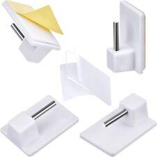10 GANCI Adesivi Per supporto Bastone Tenda Bacchetta Finestra Infissi Bris Bris