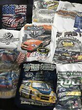 9 NASCAR Sz XL-2XL Racing T-Shirt Daytona 500 Brickyard 400 Labonte Car Print