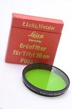 LEICA E48, 48MM GGR, GREEN FILTER TELYT 20CM 'POODW/13305' THAMBAR