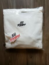 NEW 100 Thieves Deadstock 100t Fall 2018 Cream Hoodie Size L Large Sweatshirt