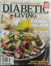 Diabetic Living Summer 2017 10 Power Salads For Weight Loss FREE SHIPPING sb
