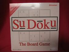 New Sudoku The Baord Game Sealed 1 to 4 players ages 8+ Pressman