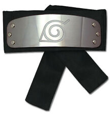 NEW Great Eastern GE-8676 Naruto Shippuden Leaf Village Logo Headband (Black)