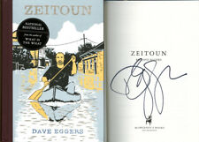 Dave Eggers SIGNED AUTOGRAPHED Zeitoun HC 1st Ed 1st Print Brand NEW McSweeney's