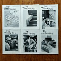 Fine Woodworking Magazine Lot 1983 Complete Year (6) Old Furniture Design Plans