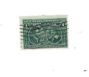 Canada 1908 Quebec Tercentenary 1c #97  Used Fine