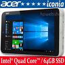 "Acer iconia 8 W4 8"" Tablet Intel 1.33-1.86Ghz  64GB SSD 2GB Ram Windows 10"