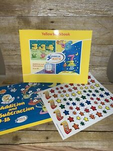 Hooked on Math Addition Subtraction Replacement Yellow Workbook & Progress Chart