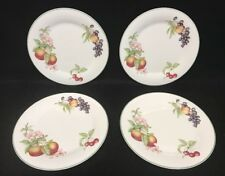 Royal Doulton Ashberry 4 Dinner Plates England EUC