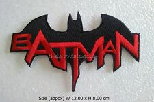 BATMAN Embroidered Sew Iron On Patch Super Hero Logo Cap Shirt Jacket DIY New