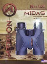 Athlon Optics Midas 8x42 Binoculars 113004 Lifetime Warranty FREE 2DAY SHIPPING