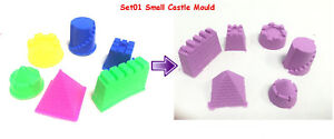 Magic Motion Moving Moon Sand Moulds Toy Transport Sea Animals Castle Cake Mould
