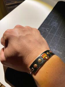 BSC Stainless Steel Wristlace Barcelona of Ecuador souvenir Brazalete