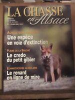 La Chasse en Alsace, magazine de chasse et de nature N°2 Février 2002