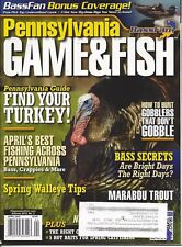 PENNSYLVANIA GAME & FISH April 2012 Turkey Walleye Marabou Trout