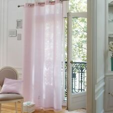 La redoute best quality Barica lin simple rideau en rose - 240 cm Drop RRP £ 69