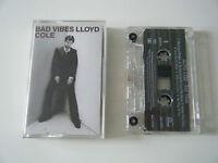 LLOYD COLE BAD VIBES CASSETTE TAPE FONTANA 1993