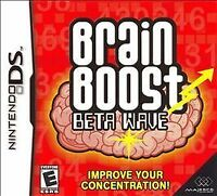 Brain Boost: Beta Wave Nintendo Ds Video Game