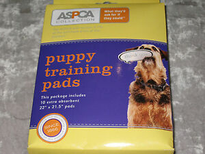 """ASPCA Puppy Training Pads Pet Absorbent 22"""" x 21.5"""" Protect Floors NEW!"""