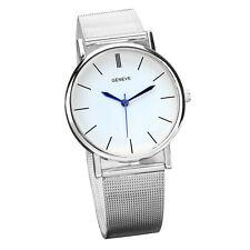 Klassisch Casual Armbanduhren Damen Edelstahl Analog Quarz Mode Uhren