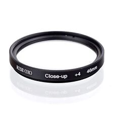 46mm +4 High Definition Close Up Macro Lens Sony Canon Nikon DSLR + FREE Pouch