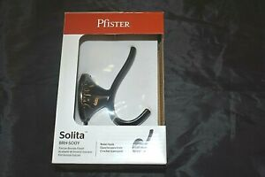 NIB  PFISTER Tucson bronze finish robe hook SOLITA NEW in Box BRH-SOOY Bathroom