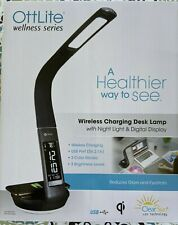 "OTTLITE WELLNESS SERIES  ""WIRELESS CHARGING DESK LAMP""  NEW IN BOX"