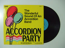 The Wonderful Sound Of An Accordion Band-Accordion Party-Disco Vinile 33 Giri LP