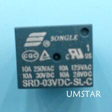2PCS SRD-3VDC-SL-C 3V SONGLE Relay SRD-03VDC-SL-C NEW