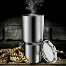 Holiday Gift Stainless Steel Tumbler 30oz Insulated Coffee Cup Travel Mug Lid
