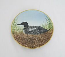 The Danbury Mint Collectable plates - Waterbird plates - Great Northern diver