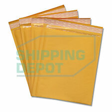 "100 #2 8.5x12 Kraft Bubble Mailers Self Seal Envelopes 8.5""x12"" Secure Seal"