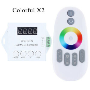 WS2811/WS2812B LED Digital Music Remote Controller-2 ,Control 600 Pixels,DC5-12V