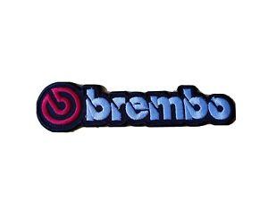 BREMBO (c) Motor Racing / Motorsport Patch Sew / Iron On Badge