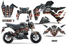 AMR Racing Kawasaki Z125 PRO Graphic Kit Dirt Bike Decals MX Wrap 2017 WW2 BOMB