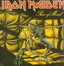 IRON MAIDEN-LP- PIECE OF MIND- EMI-GERMANY- 1983- FOC- MINT