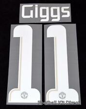 Manchester United Giggs 11  Champions League Football Shirt Name Set 2013/14