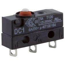Cherry MicroSwitch Micro Switch SPDT 6 A 250 V AC botón de soldadura IP67 DC1C-A1AA