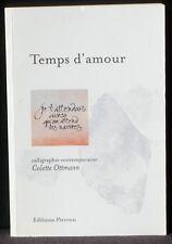 Colette Ottmann Temps d'amour Pierron NM