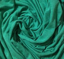 Linen Jersey blend Knit Fabric Ecofriendly highend fabric light kelly green 6oz