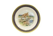 Lenox Annual Collector Plate Woodland Wildlife 1980 Bobcats Boehm