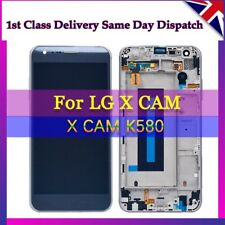 GENUINE LG X Cam K580 REPLACEMENT SCREEN FRAME DISPLAY LCD Blue UK