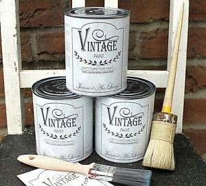 Jeanne d´Arc Living JDL 700 ml Vintage Paint Kreidefarbe Möbel-Farbe Shabby Chic