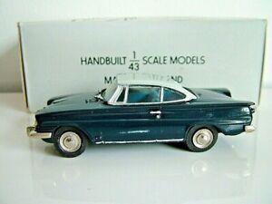 PATHFINDER MODELS PFM8 - 1963 FORD CONSUL CAPRI GT - BLUE - LIMITED EDITION