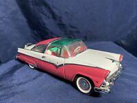 Franklin Mint 1955 Ford Fairlane Crown Victoria Coupe 1:24 Scale Diecast Replica