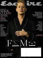 Esquire Magazine Issue March 2020 featuring Macaulay Culkin