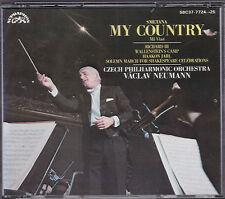 VACLAV NEUMANN - MY COUNTRY-MA VLAST SMETANA RICHARD III  DENON JAPAN 2 CD