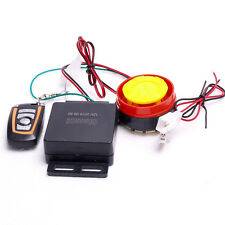 Motorcycle Bike Keyless Anti-theft Security Alarm System Remote Control 12V