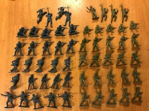 Airfix Vintage 1/32 Scale WWII British Commandos & German Infantry - 58 figs
